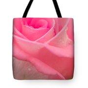 Pink Rose Tote Bag by Atiketta Sangasaeng