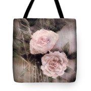 Pink Roses Tote Bag by Arline Wagner