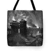 Pittsburgh: Blast Furnaces Tote Bag by Granger