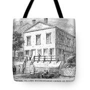 PITTSBURGH: CHURCH Tote Bag by Granger