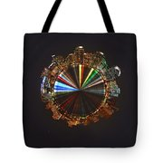 Planet Wee San Diego California By Night Tote Bag by Nikki Marie Smith
