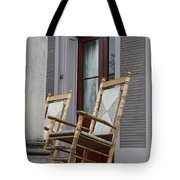 Plantation Rocking Chairs Tote Bag by Carol Groenen