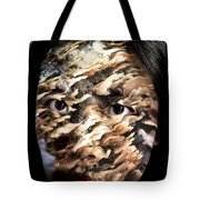 Plates Of Woe Tote Bag by Christopher Gaston