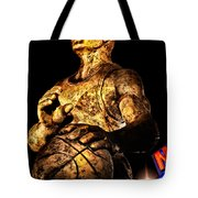 Player In Bronze Tote Bag by Christopher Holmes