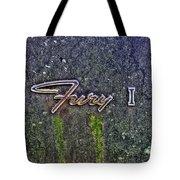 Plymouth Fury Logo Tote Bag by Dan Stone