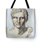 Pompey (106-48 B.c.) Tote Bag by Granger