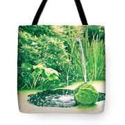 Pond Tote Bag by Tom Gowanlock