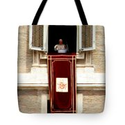 Pope Benedict XVI b Tote Bag by Andrew Fare