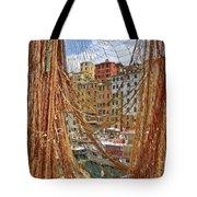 Port Of Camogli Tote Bag by Joana Kruse