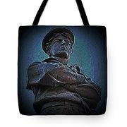Portrait 33 American Civil War Tote Bag by David Dehner