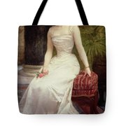 Portrait Of Madame Olry-roederer Tote Bag by William-Adolphe Bouguereau
