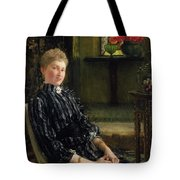 Portrait Of Mrs Ralph Sneyd Tote Bag by Sir Lawrence Alma-Tadema