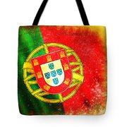 Portugal Flag  Tote Bag by Setsiri Silapasuwanchai