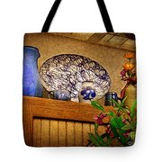 Pottery Still Life Tote Bag by Judi Bagwell