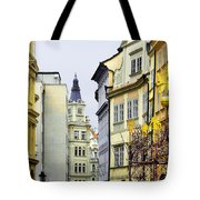 Prague - Walking In The Footsteps Of Kings Tote Bag by Christine Till