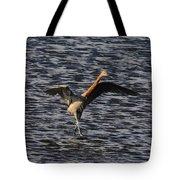 Prancing Heron Tote Bag by David Lee Thompson
