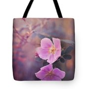 Prickly Rose Tote Bag by Priska Wettstein