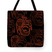 Primal Screams Tote Bag by David Dehner