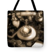 Princess Phone Tote Bag by Mike McGlothlen