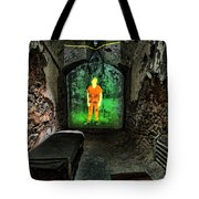 Prisoner Of The Soul Tote Bag by Andrew Paranavitana
