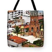 Puerto Vallarta Tote Bag by Elena Elisseeva