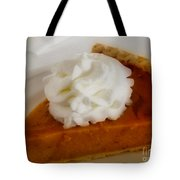 Pumpkin Pie Tote Bag by Cheryl Young