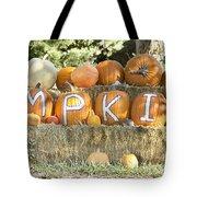 Pumpkins P U M P K I N S Tote Bag by James BO  Insogna