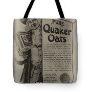 Pure Quaker Oates Tote Bag by Bill Cannon