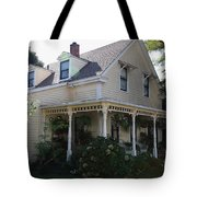 Quaint House Architecture - Benicia California - 5d18793 Tote Bag by Wingsdomain Art and Photography