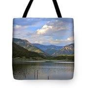 Quake Lake Tote Bag by Karon Melillo DeVega