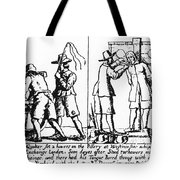 QUAKER PERSECUTION Tote Bag by Granger