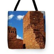 Quarai Salinas Pueblo Missions National Monument Tote Bag by Christine Till
