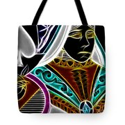 Queen Of Spades - V4 Tote Bag by Wingsdomain Art and Photography