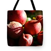 Radishes At Sunrise Tote Bag by Susan Herber