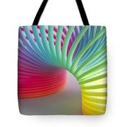 Rainbow 1 Tote Bag by Steve Purnell
