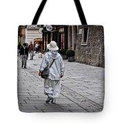 Rainwear In Salzburg Tote Bag by Mary Machare