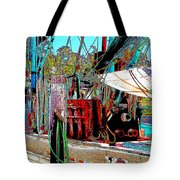 Ready for the Trip II Tote Bag by Barry Jones