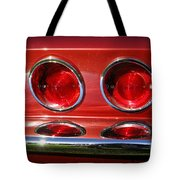 Red Hot Vette Tote Bag by Luke Moore