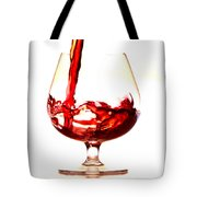 Red Wine Tote Bag by Michal Boubin