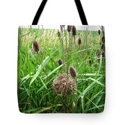 Red-winged Blackbird Nest Tote Bag by J McCombie