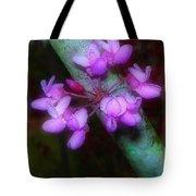 Redbud Tote Bag by Judi Bagwell