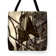 Reflecting In Little Italy Tote Bag by Catie Canetti