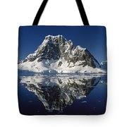 Reflections With Ice Tote Bag by Antarctica