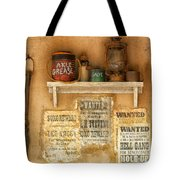 Relics Of The Old West Tote Bag by Sandra Bronstein