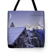 Remember This December Tote Bag by Sabine Jacobs