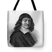 Rene Descartes, French Polymath Tote Bag by Science Source