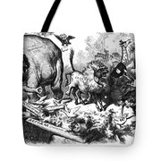 Republican Elephant, 1874 Tote Bag by Granger