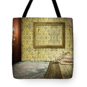 Retro Room Interior Tote Bag by Setsiri Silapasuwanchai