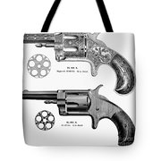 Revolvers, 19th Century Tote Bag by Granger