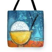 Rice And Tea Tote Bag by Linda Woods